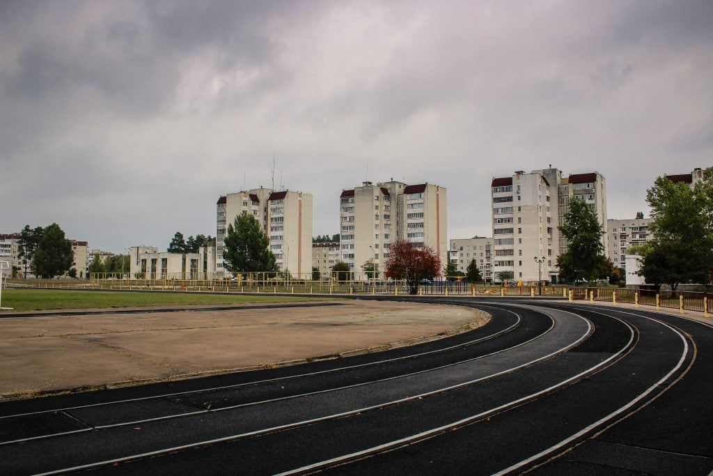 Slavutych, Ukraine sports area