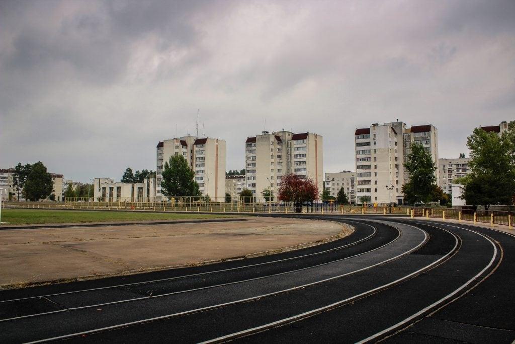 Slavutych, Ukraine sports area