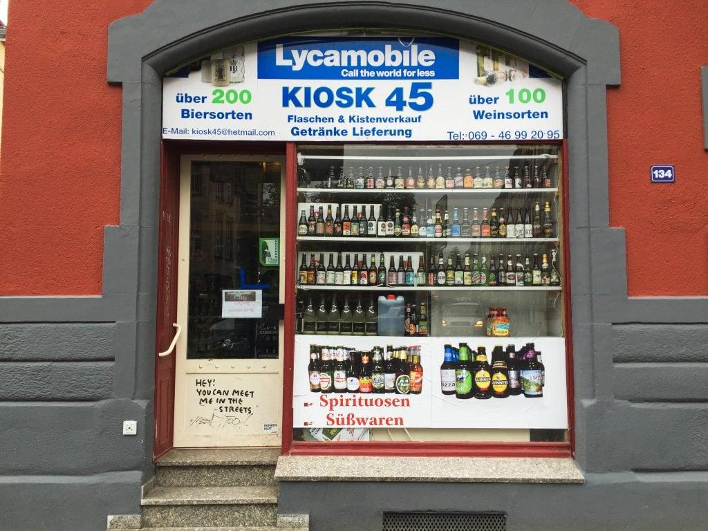 Kiosk 45 in Frankfurt, Germany