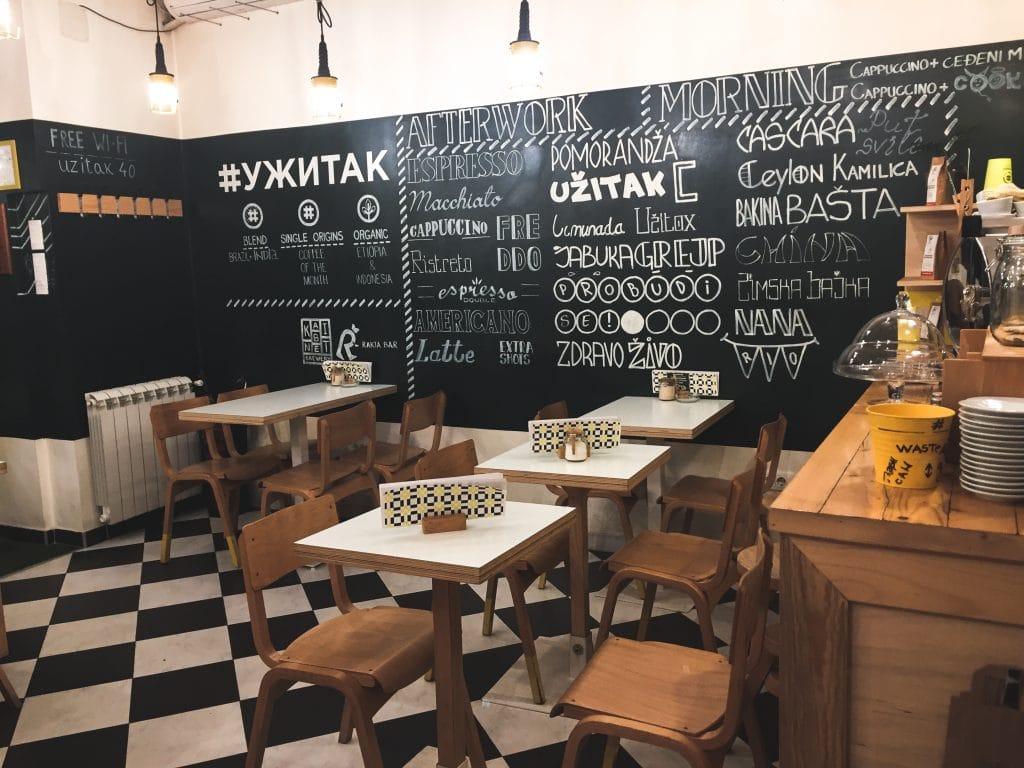 Uzitak in Belgrade, Serbia