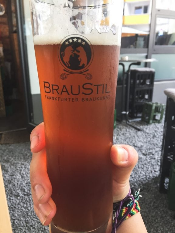 Braustil in Frankfurt, Germany