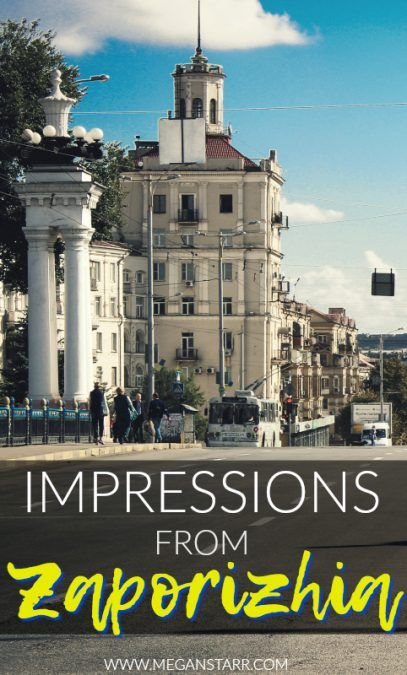 Impressions from Zaporizhia, Ukraine