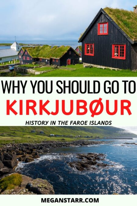 Why you should visit Kirkjubour, Faroe Islands | Faroe Islands history | Streymoy Island | Faroe Islands photography | Places to visit in the Faroe Islands | where to stay in faroe islands | Visit Faroe Islands | Faroe Islands travel guide | Faroe Islands villages | Scandinavia and the Nordics | Off the path travel Faroe Islands | Things to do in the Faroe Islands #kirkjubour #kirkjubøur
