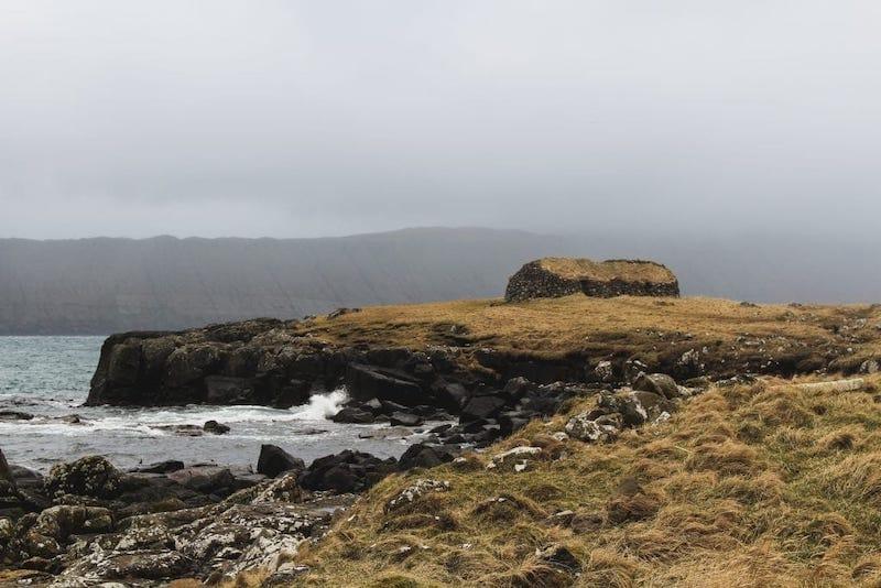 Abandoned home in Kirkjubour Faroe Islands (a travel guide to Kirkjubour)