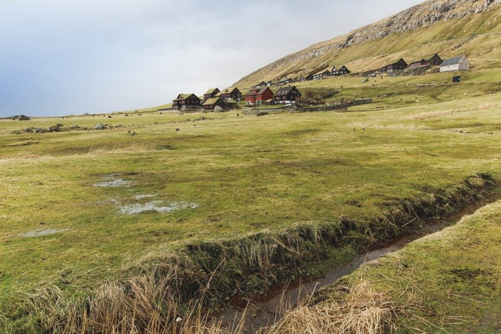 Kirkjubøur in the Faroe Islands