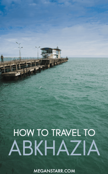 This post contains all you need to know about traveling to Abkhazia. It gives visa information, travel tips, and border crossing and transportation info.