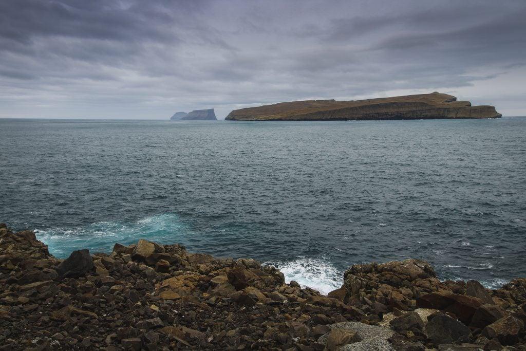 Sandur on Sandoy in the Faroe Islands