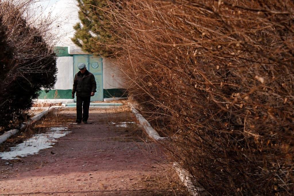 balykchy, kyrgyzstan on issyk-kul