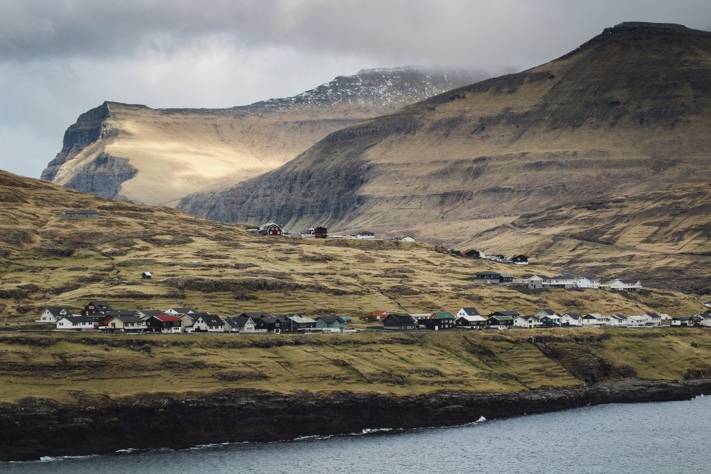 View of Eiði from Streymoy