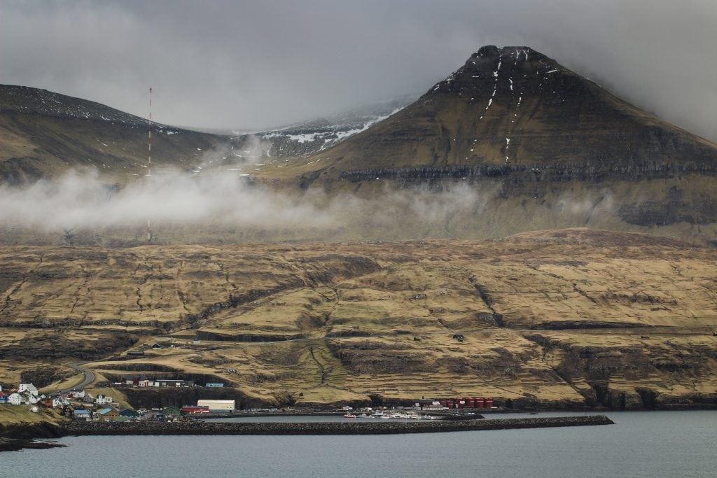 View of Eiði from Streymoy