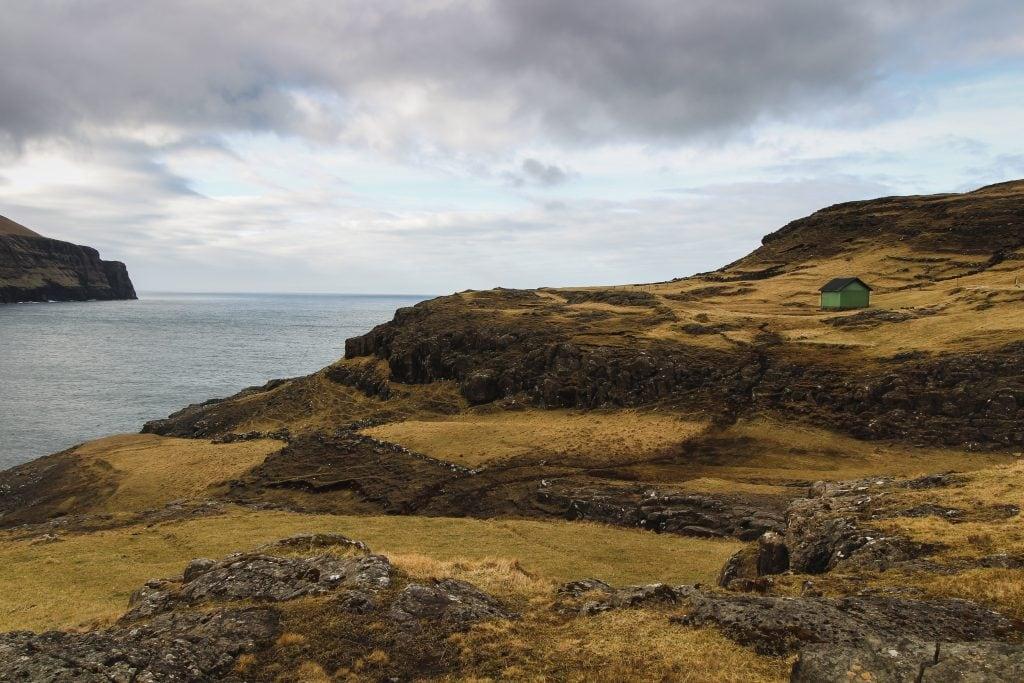 Eiði on Eysturoy in the Faroe Islands