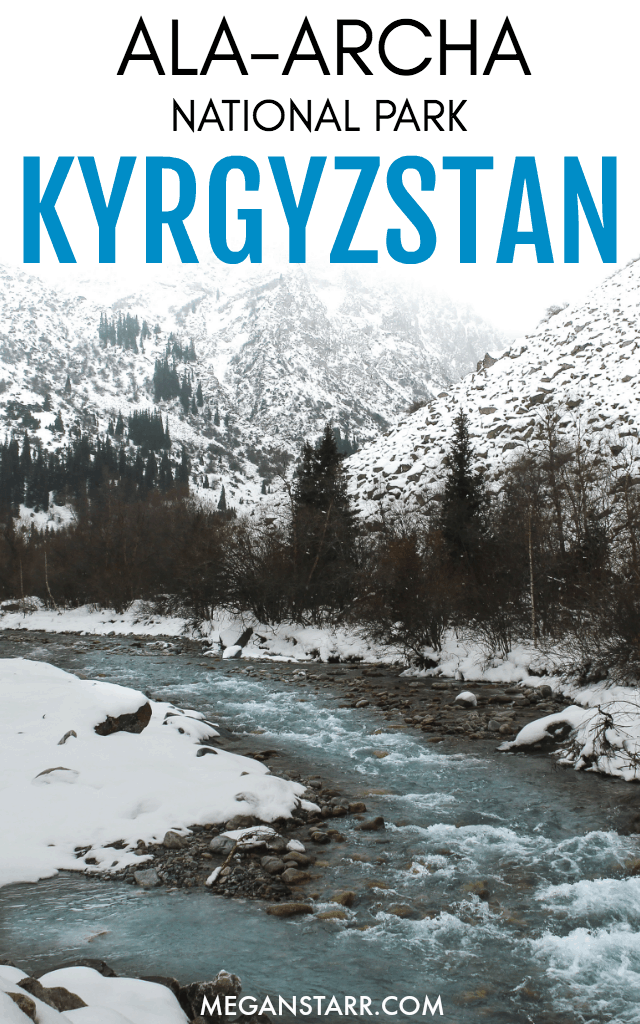 I recently took a day trip from Bishkek to Ala-Archa National Park in Kyrgyzstan, a nature reserve outside of the city that is home to a river, glacier, and waterfall.