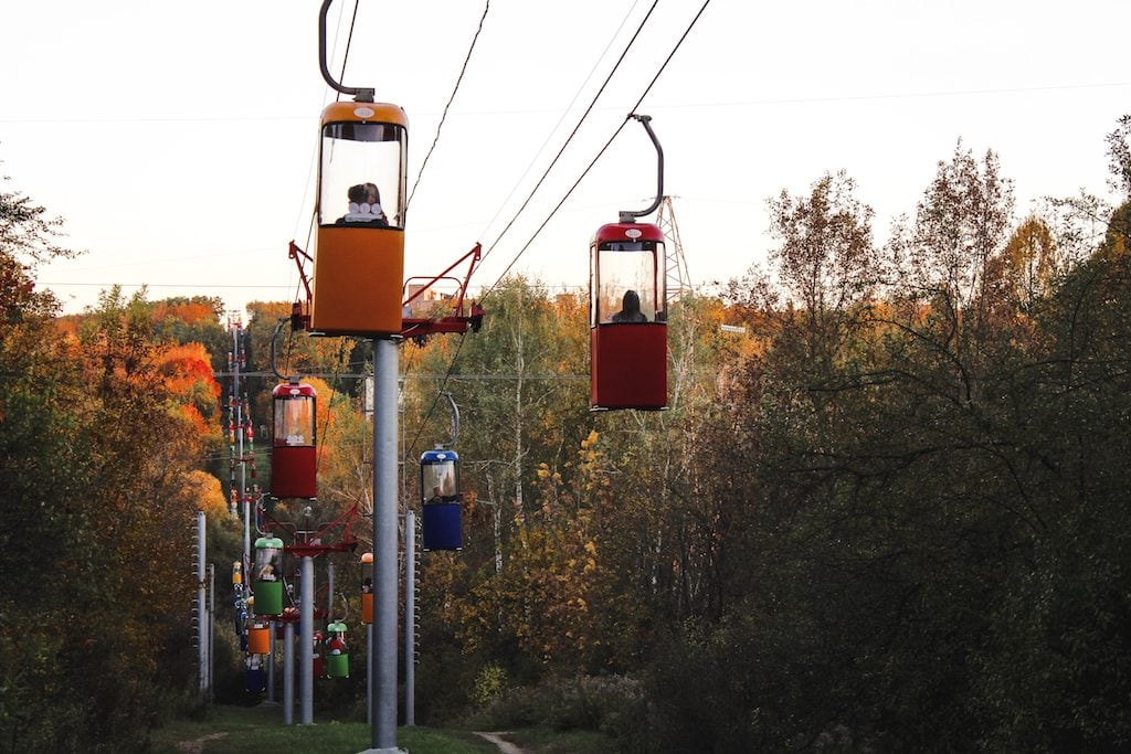 Kharkiv Cable Cars in Ukraine