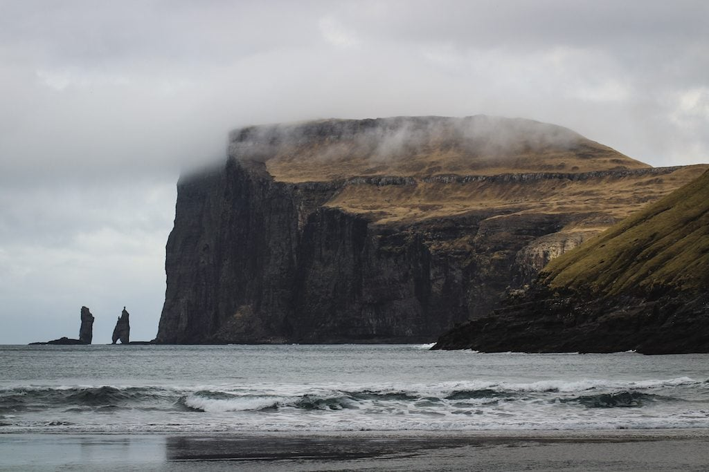 Tjørnuvik in the Faroe Islands on Streymoy