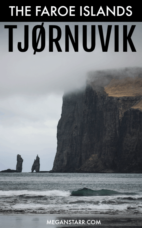 Visiting Tjørnuvik in the Faroe Islands on northern Streymoy