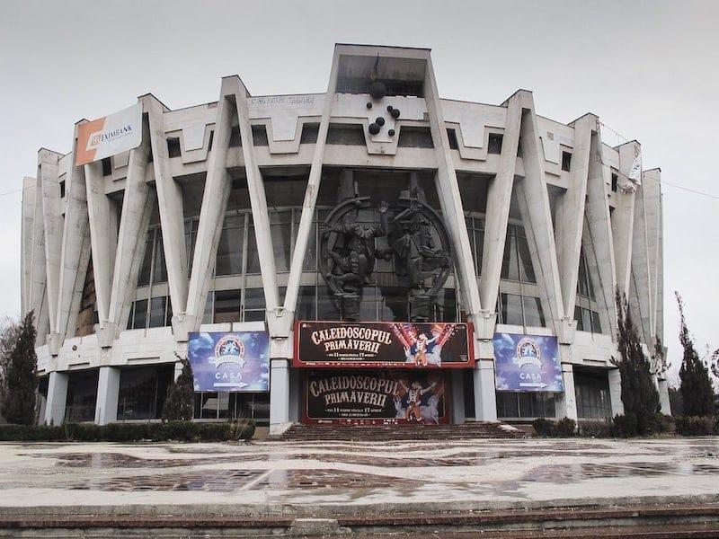Chisinau State Circus in Moldova