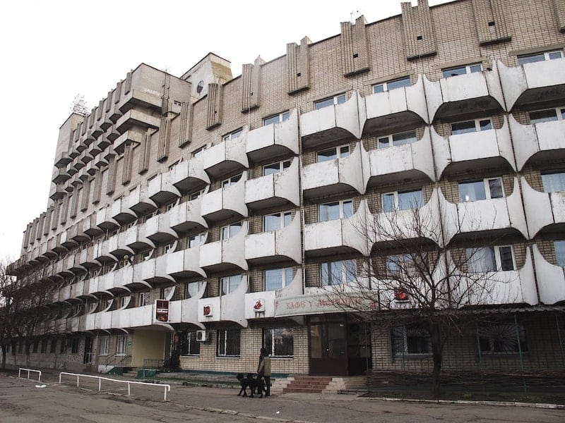 Dnipro Soviet circus building and accommodation for artists