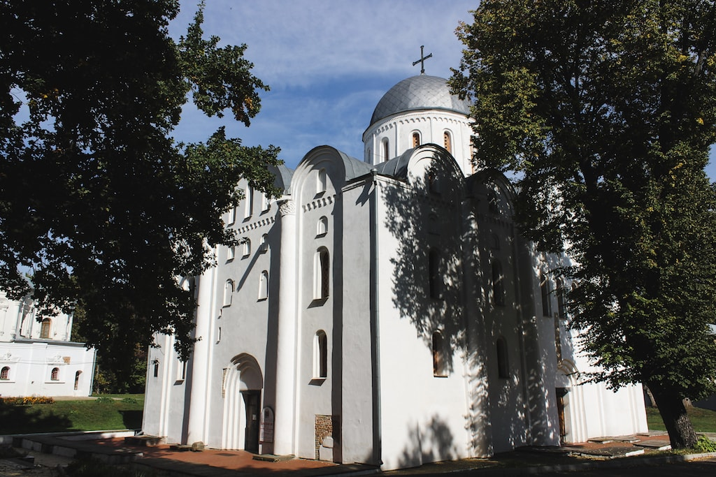 Boris and Gleb Cathedral in Chernihiv, Ukraine
