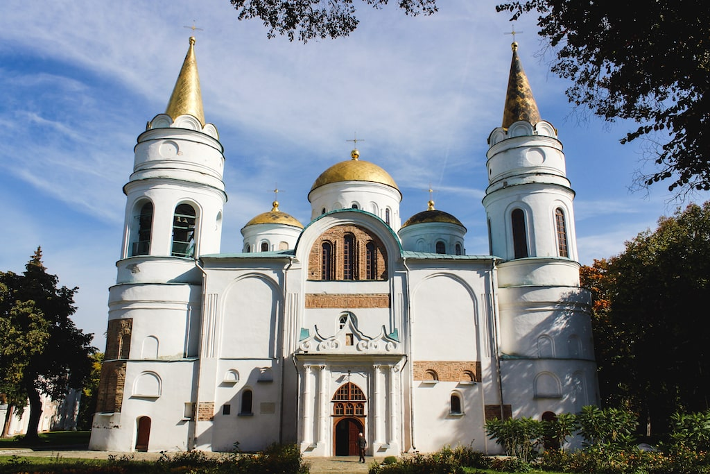 Transfiguration Cathedral in Chernihiv, Ukraine