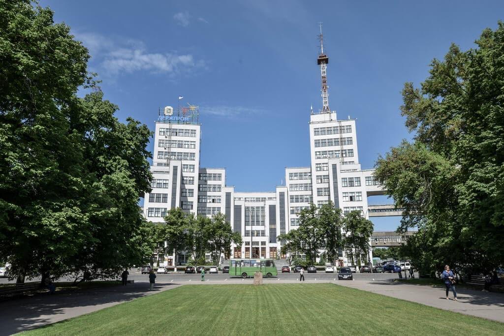 derzhprom in kharkiv, ukraine