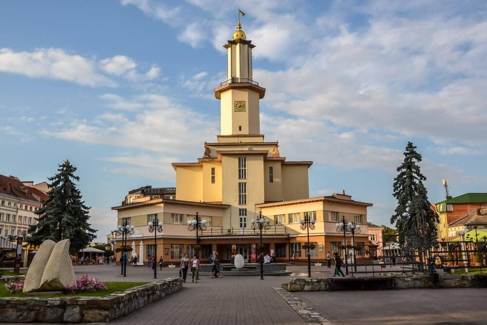 Ivano-Frankivsk, Ukraine by Kamila Napora