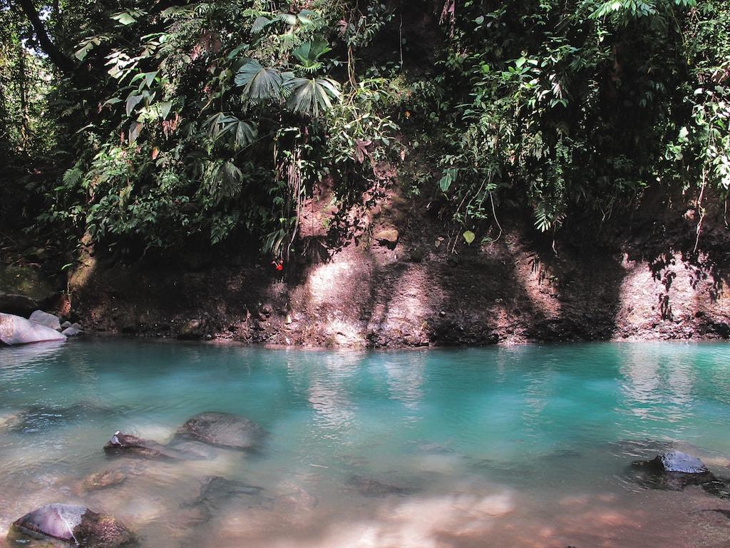 La Fortuna Waterfall in La Fortuna, Costa Rica
