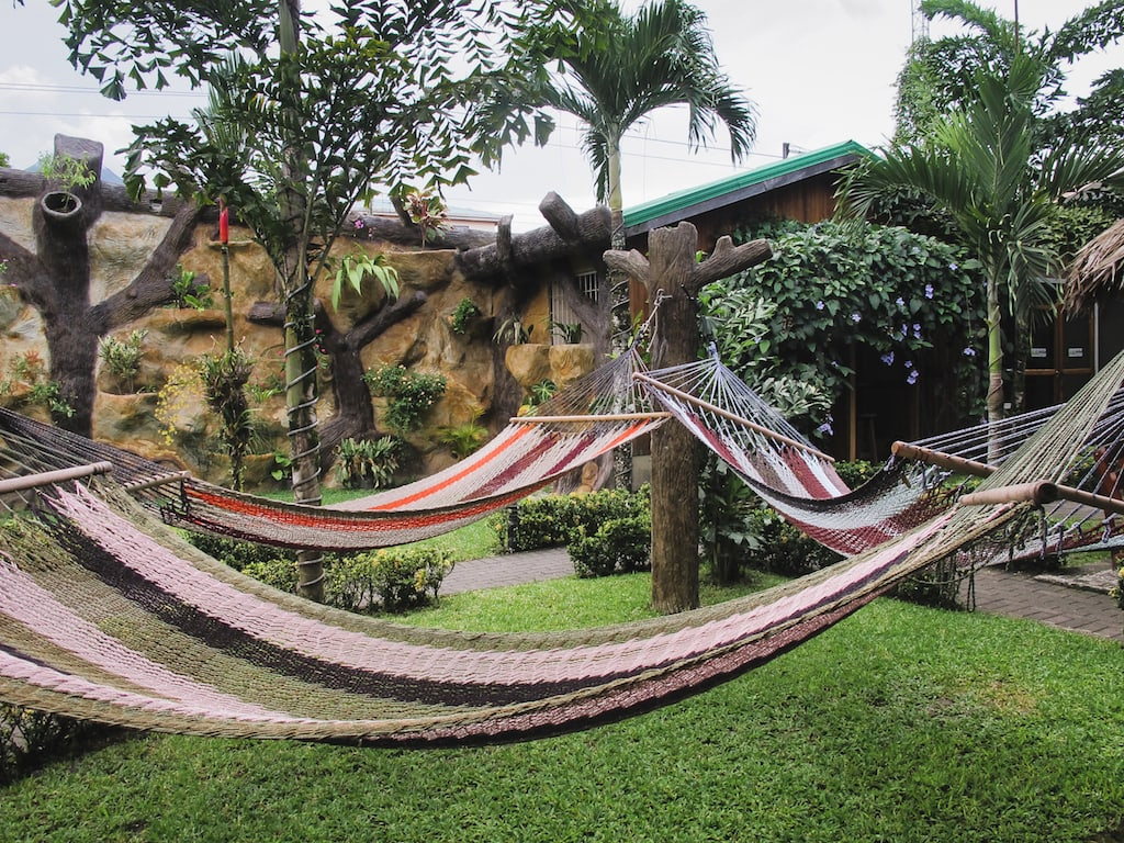 Arenal Backpackers Resort in La Fortuna, Costa Rica