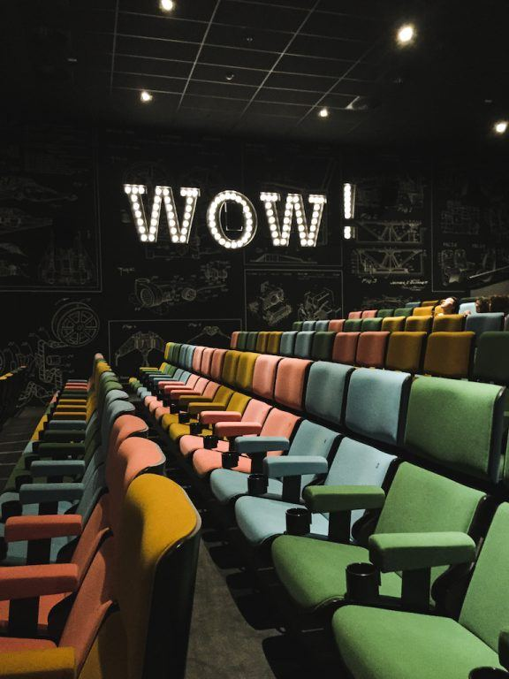 Kaptol Boutique Cinema in Zagreb, Croatia