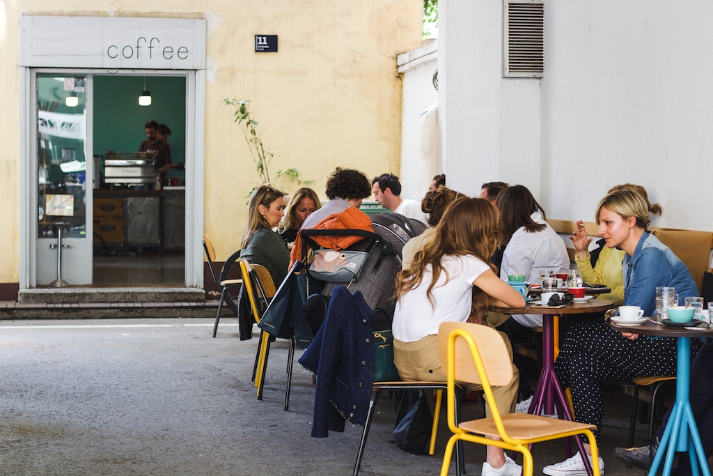 Cogito Coffee in Zagreb, Croatia