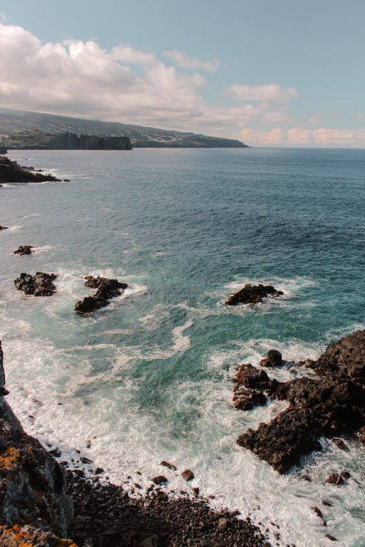 Near Capelas on the northern coast of Sao Miguel, Azores
