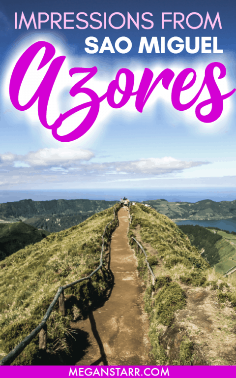 I recently spent a week on Sao Miguel in the Azores and fell completely head over heels in love with the island. This post recaps my time there!