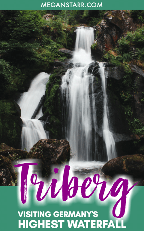 Triberg Waterfall: A Complete Guide to the Highest Waterfall in Germany. This guide will give you all you need to know about getting to the waterfall, what to do when there, and where to stay in Triberg, Germany. #germany #waterfall #nature