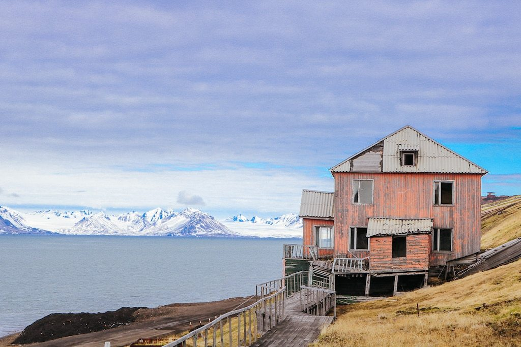 Barentsburg in Svalbard, Norway from Vanessa at Snow in Tromsø
