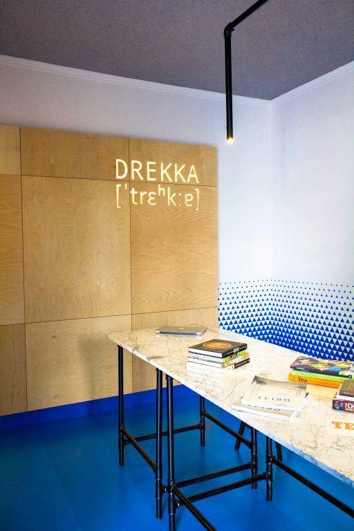 Drekka cafe in Sofia, Bulgaria
