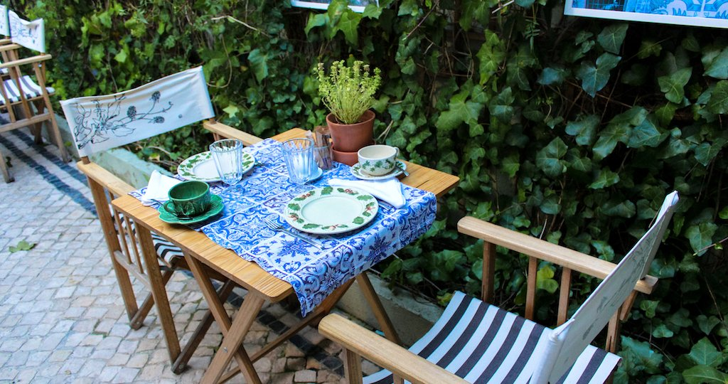 A romantic getaway and breakfast at Casa Amora in Lisbon, Portugal