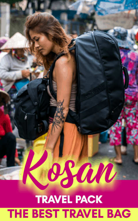 The Kosan Travel Pack System is the best travel bag on the market. With so many amazing features and benefits, your travel will be revolutionized with it! Click to learn more!