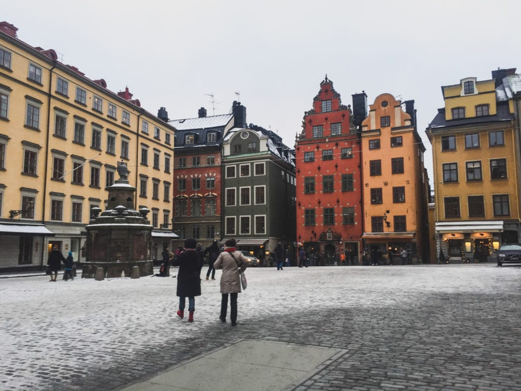 Gamla Stan in Stockholm, Sweden from Allison Green at Eternal Arrival