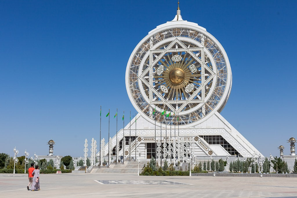 The largest indoor Ferris wheel in the world. Ashgabat, Turkmenistan. (photo credit: Offbeat Travelling)