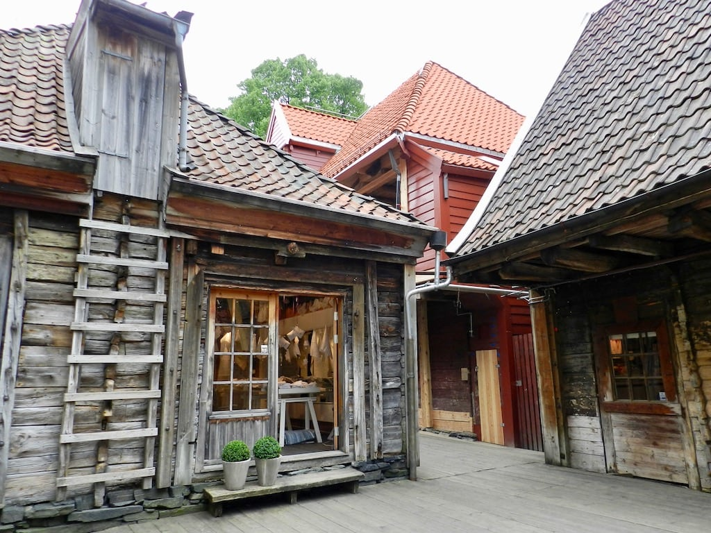 Bryggen at Bergen, Norway from Joy Clarke