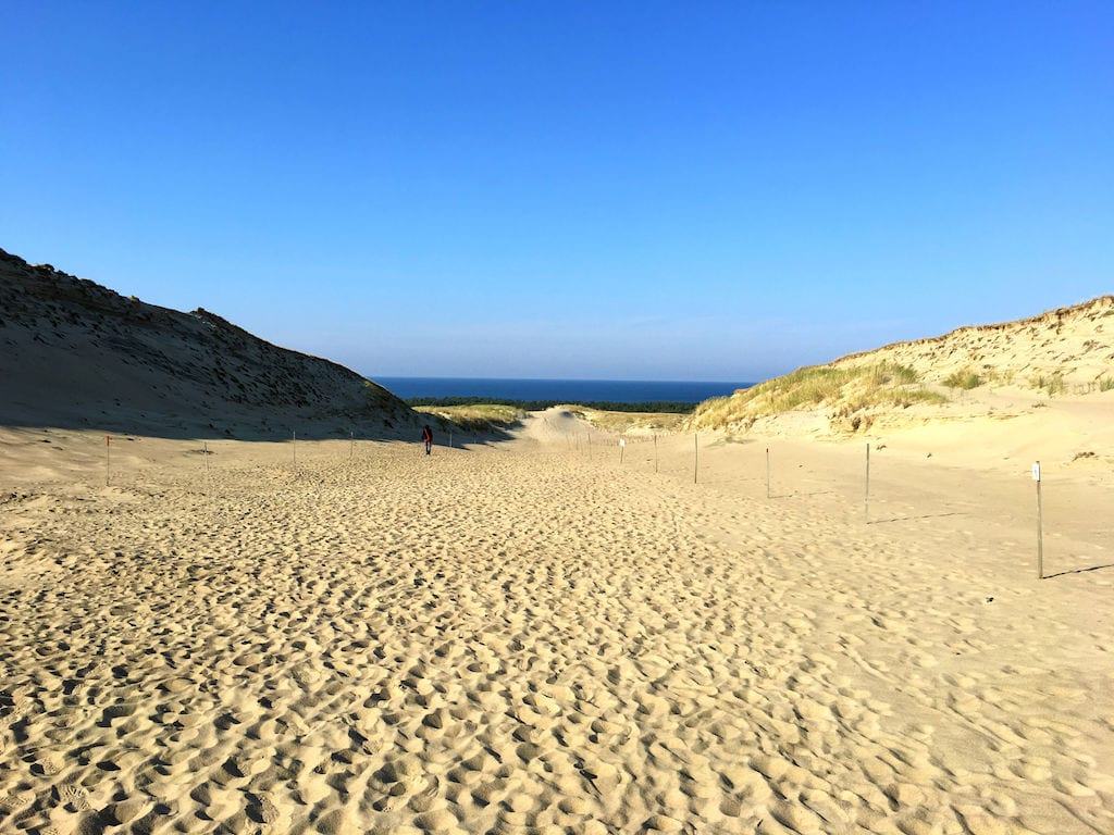 the Curonian Spit near Klaipeda, Lithuania from Di and Dave at Meandering Wanderers