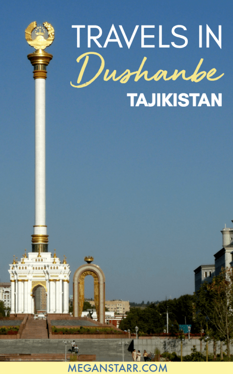 Thoughts from Time Spent Traveling in Dushanbe, Tajikistan. Click to read more about this area of Central Asia! #tajikistan #dushanbe