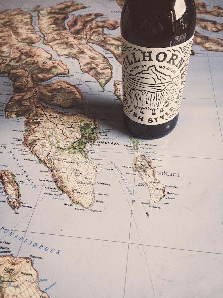 mikkeller and okkara collab beer in torshavn, faroe islands