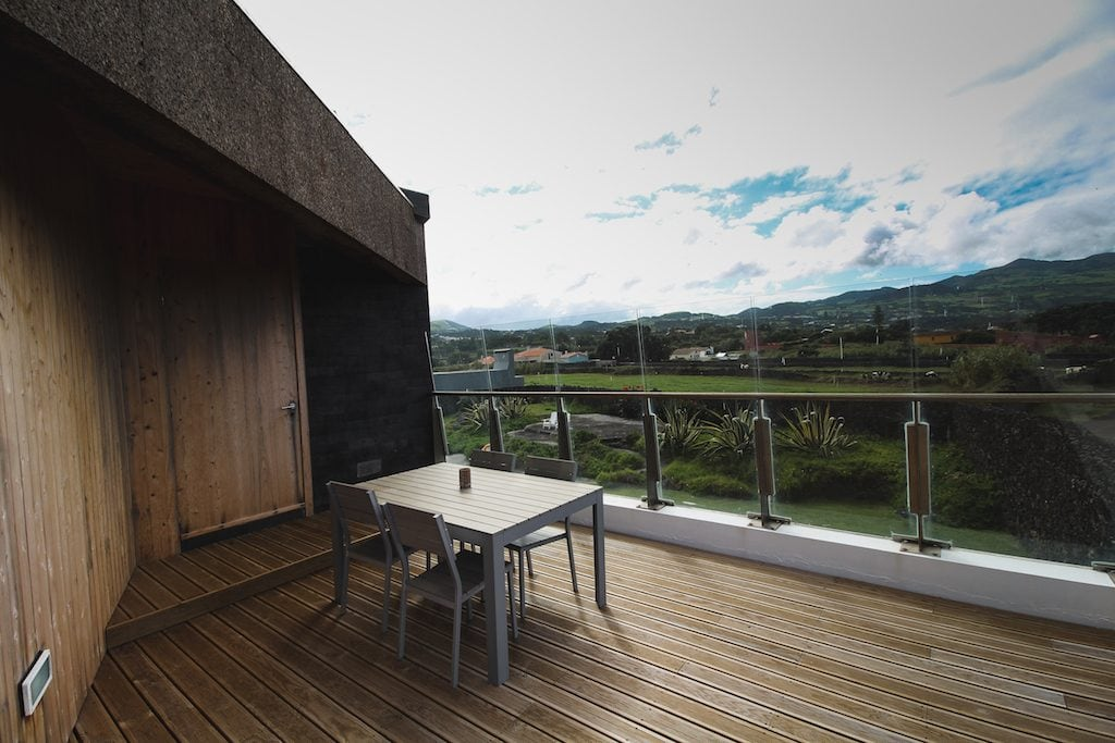 Santa Barbara Lodge by Santa Barbara Eco-Beach Resort in Sao Miguel, Azores terrace