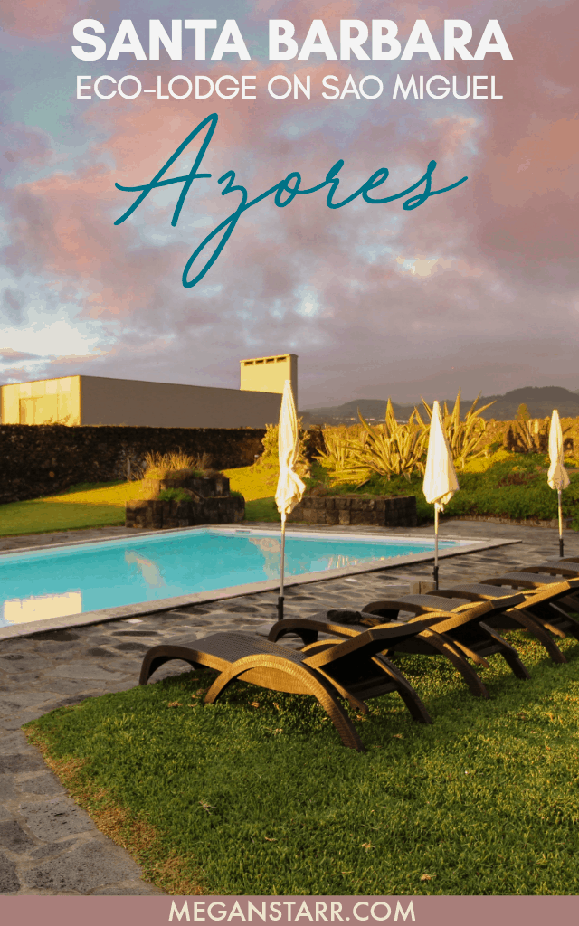 The Incredible Santa Barbara Lodge on Sao Miguel, Azores - the best place to stay in the Azores!  Click to read more about the Eco-Lodge!