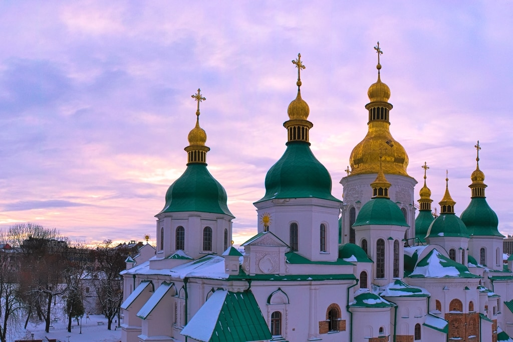 St. Sophia's in Kyiv, Ukraine from Anneliese from The World in My Eyes
