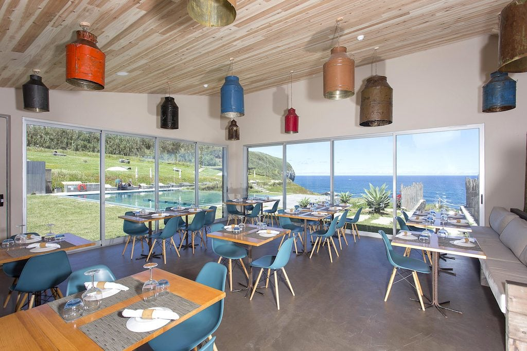 Santa Barbara Lodge by Santa Barbara Eco-Beach Resort in Sao Miguel, Azores restaurant areais