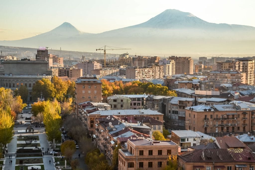 Yerevan, Armenia from Kami at Kami and the Rest of the World