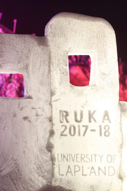 ruka finland polar night light festival