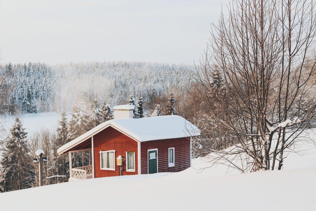 Porjolan Pirtti or Santa's Cottage in Lapland, Finland in Kuusamo