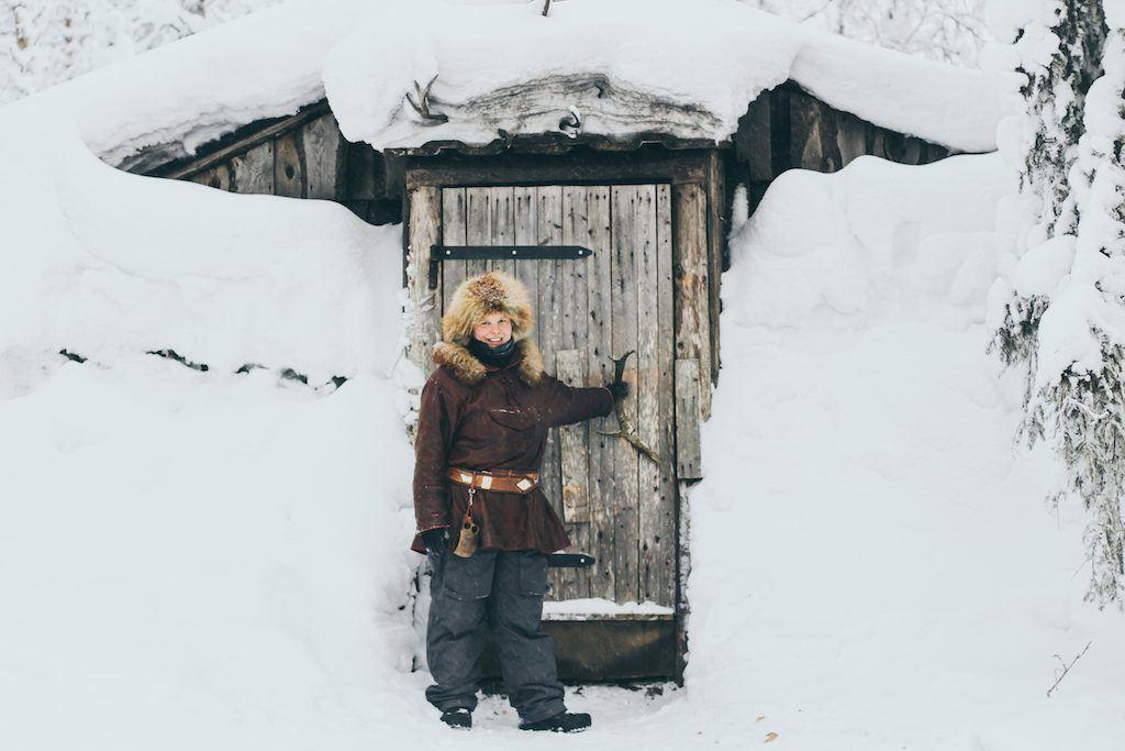 Palosaari in ruka and kuusamo finland reindeer farm